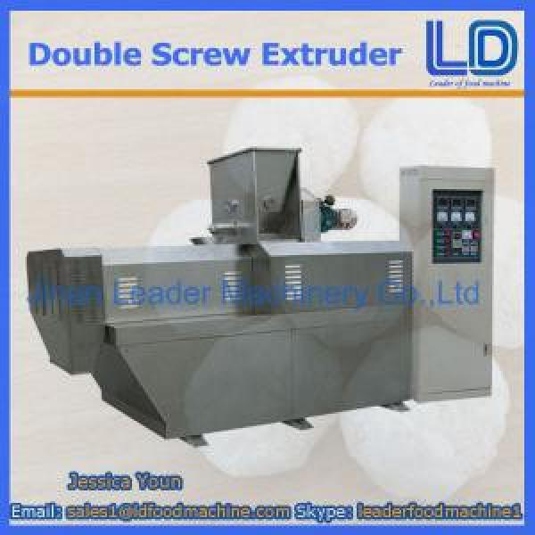 304 Stainless steel double screw extruder food snack machine #1 image