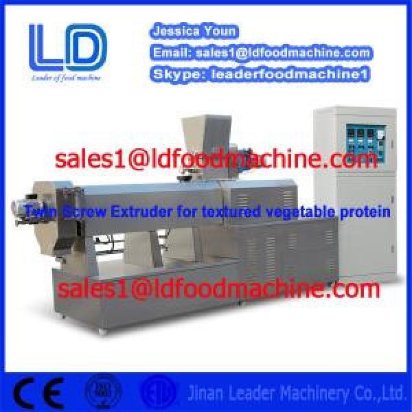 Hot sale double screw extruder food snack machine #1 image