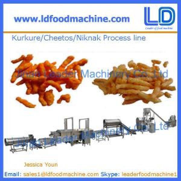 Kurkure /Cheetos /Niknak production line,snacks food machine #1 image