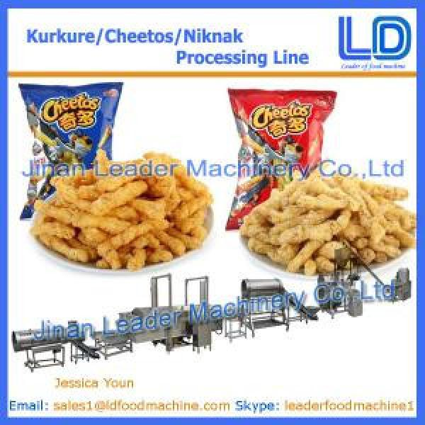 Kurkure /Cheetos /Niknak assembly line, food machine #1 image