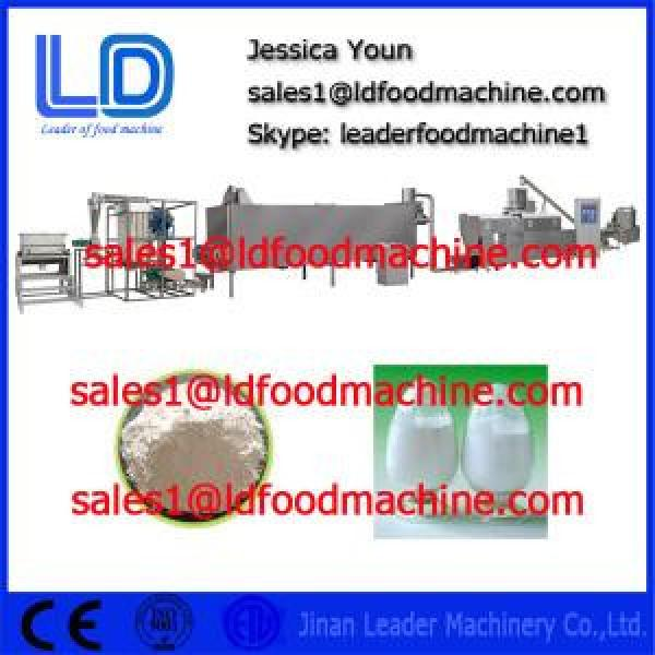 Stainless steel Extruded Modified Starch processing machinery #1 image