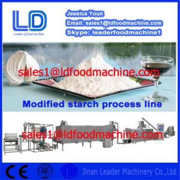 304 Stainless Steel Automatic Modified Starch extrusion Machinery #1 image