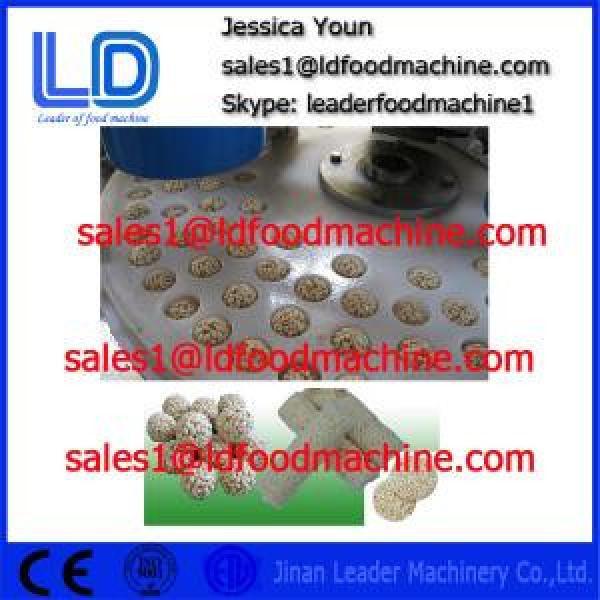 High Quality Automatic Healthy Puffed Roasted Barley Granola Bar Machine #1 image