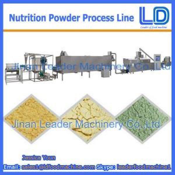 Nutrition powder processing Line,Baby rice powder food machinery #1 image