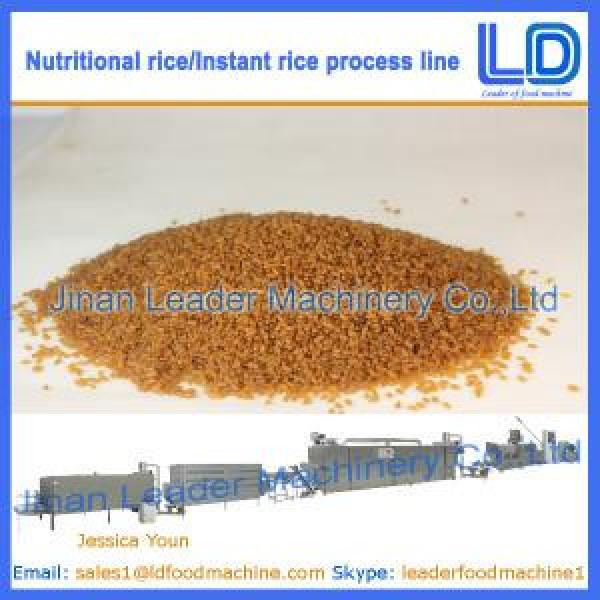 Instant Rice Food processing line made in china #1 image
