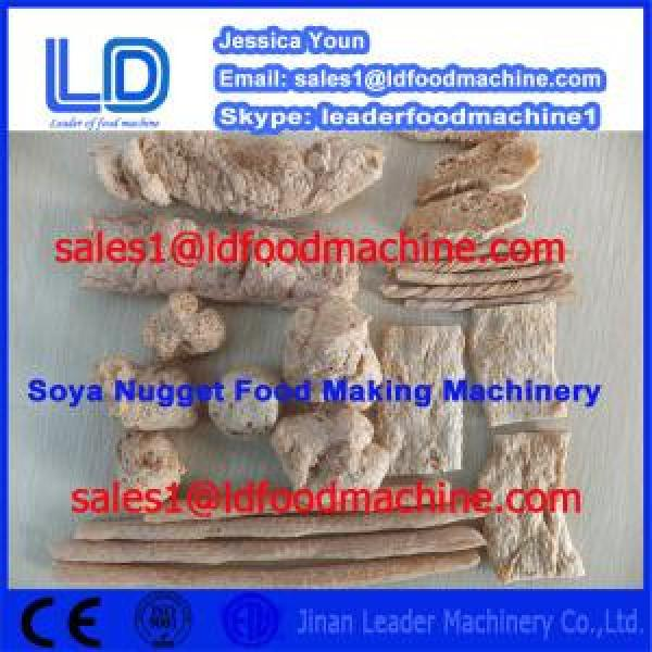 High Quality Automatic Vegetarian Soya Meat Prcessing Equipment made in China #1 image