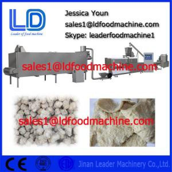 Made in China TVP TSP Soya bean protein food processing line #1 image