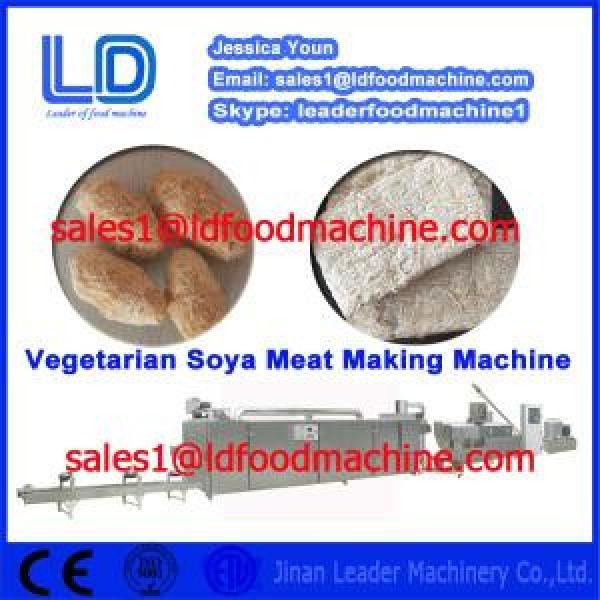 2015 Hot sale Automatic Bontex Soya Nugget Food making machine #1 image