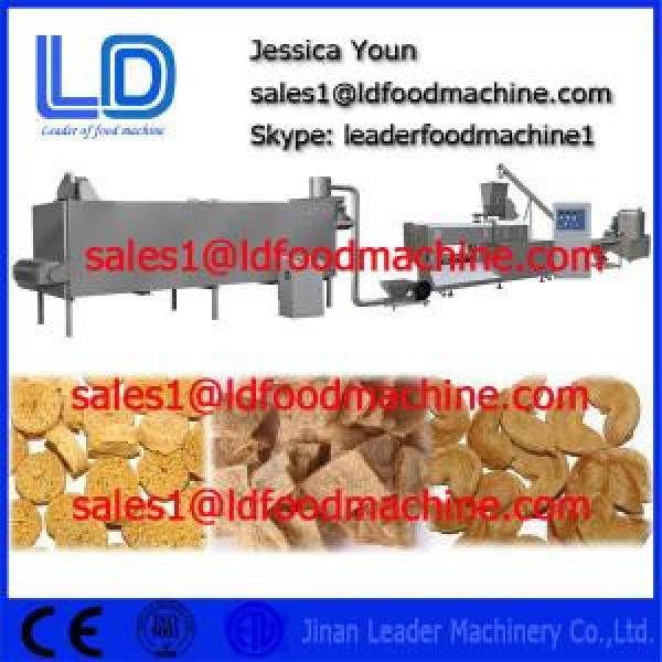 Automatic TVP TSP Soya bean protein food processing Equipment #1 image
